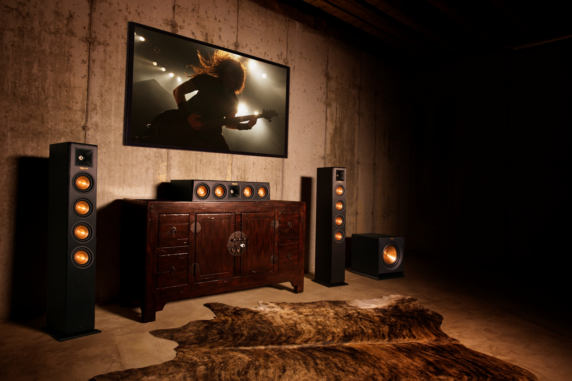 Klipsch-RP-440WF-RP-440WC-RP-110WSW-wireless-home-theater